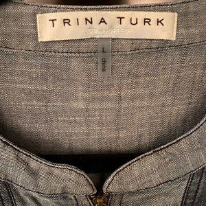 Trina Turk Blue Jean dress
